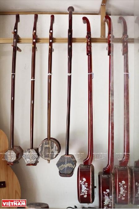 Dao Xa village preserves traditional musical instruments