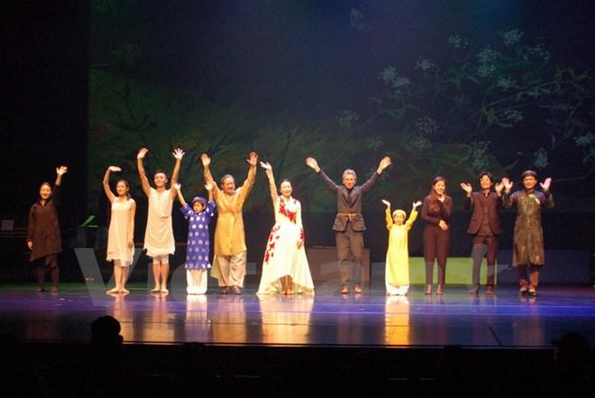 Art performance to mark 25th anniversary of Vietnamese-RoK relations