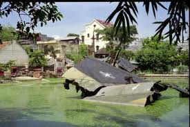 B52戦闘機が墜落したゴクハー村