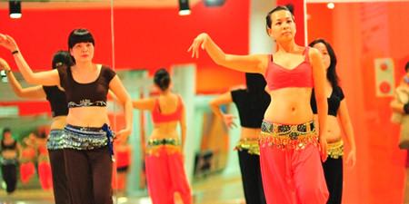 ベトナムにおけるベリーダンスの練習