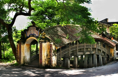 ナムディン省ハイアイン村の訪れ