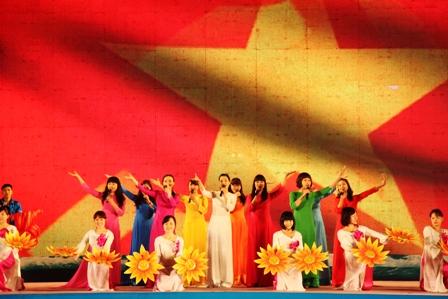 党・新春を祝う活動
