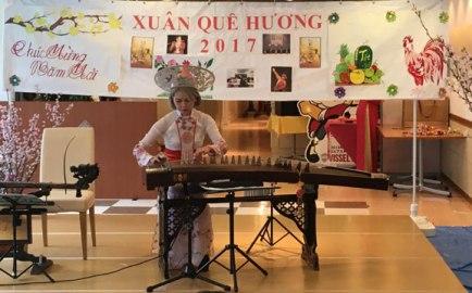 テトを祝う懇親会神戸のベトナム人