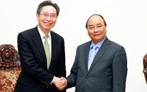 フック首相、BTMU=三菱東京UFJ銀行頭取と会見