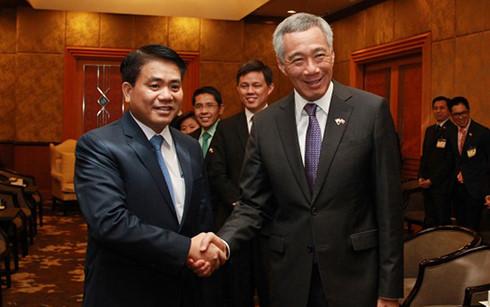 SPのリー首相、ベトナム訪問を終える