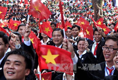 越南——意大利劳动者心中胜利的象征