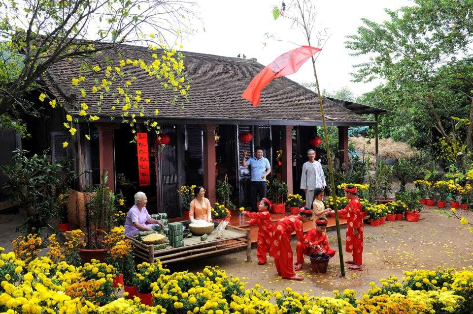 外国人欢度越南春节