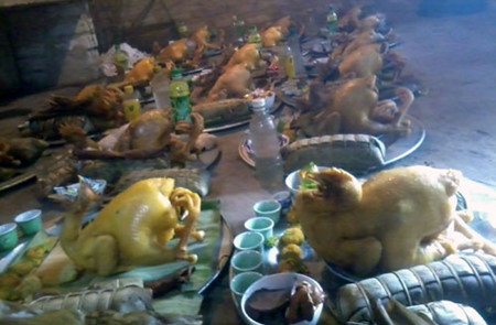侬族的土地公供奉习俗