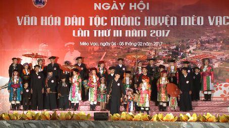 赫蒙族文化日在河江省苗旺县举行
