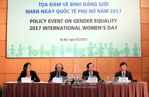 越南良好实现性别平等各项目标