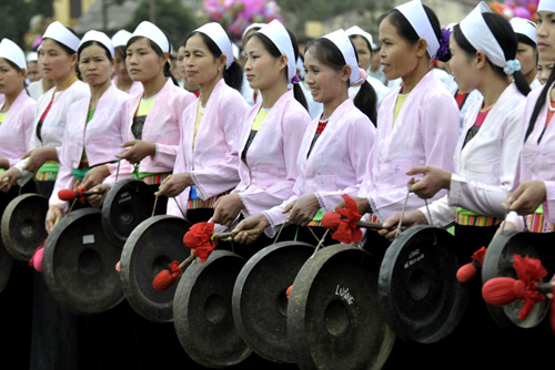 Gongs in the life of the Muong