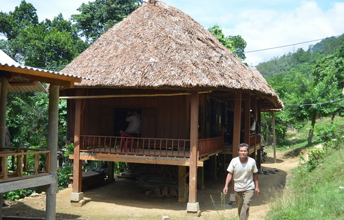 The Van Kieu preserve their stilt house