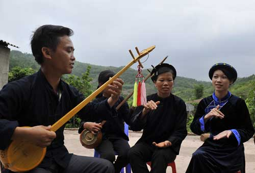 Folk songs of the San Chi