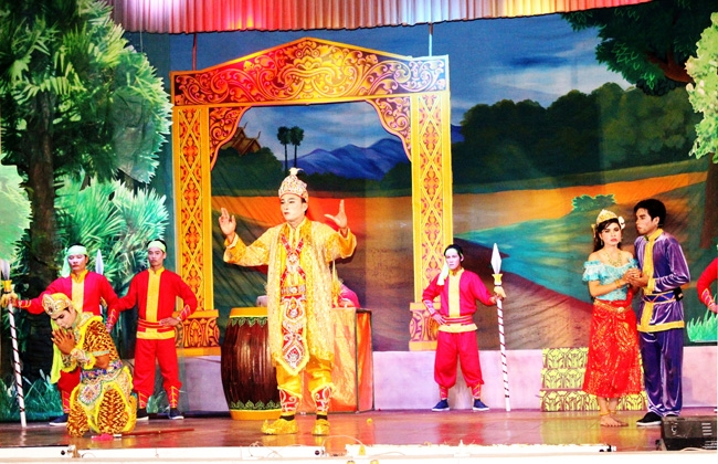 Traditional dance of the Khmer
