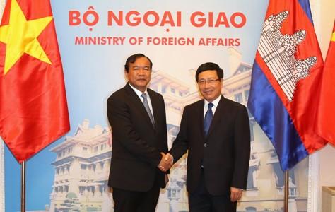 Cementing Vietnamese-Cambodian diplomatic ties