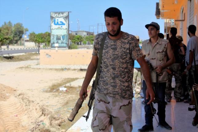 Libya's anti-IS forces advance in Sirte