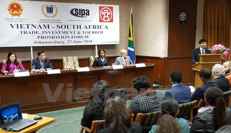 Vietnam, South Africa boost trade, investment, tourism cooperation