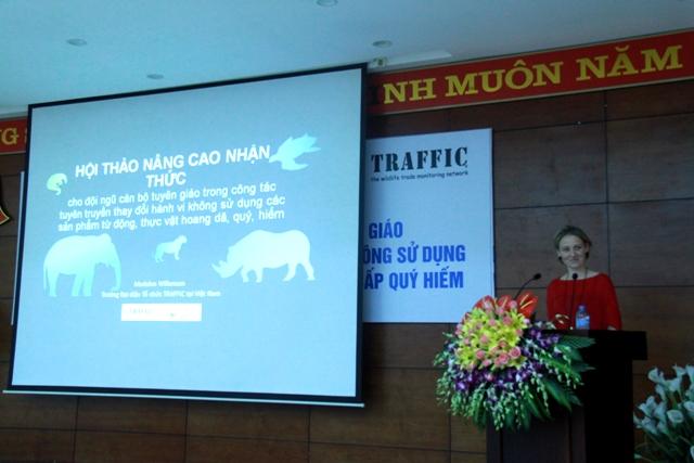 Vietnam enhances communications on not using rare wildlife products