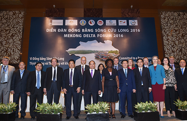 Economic development in the Mekong Delta adapting to climate change