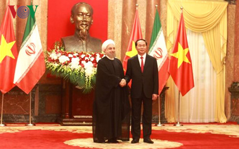 Iranian President Hassan Rouhani concludes Vietnam visit
