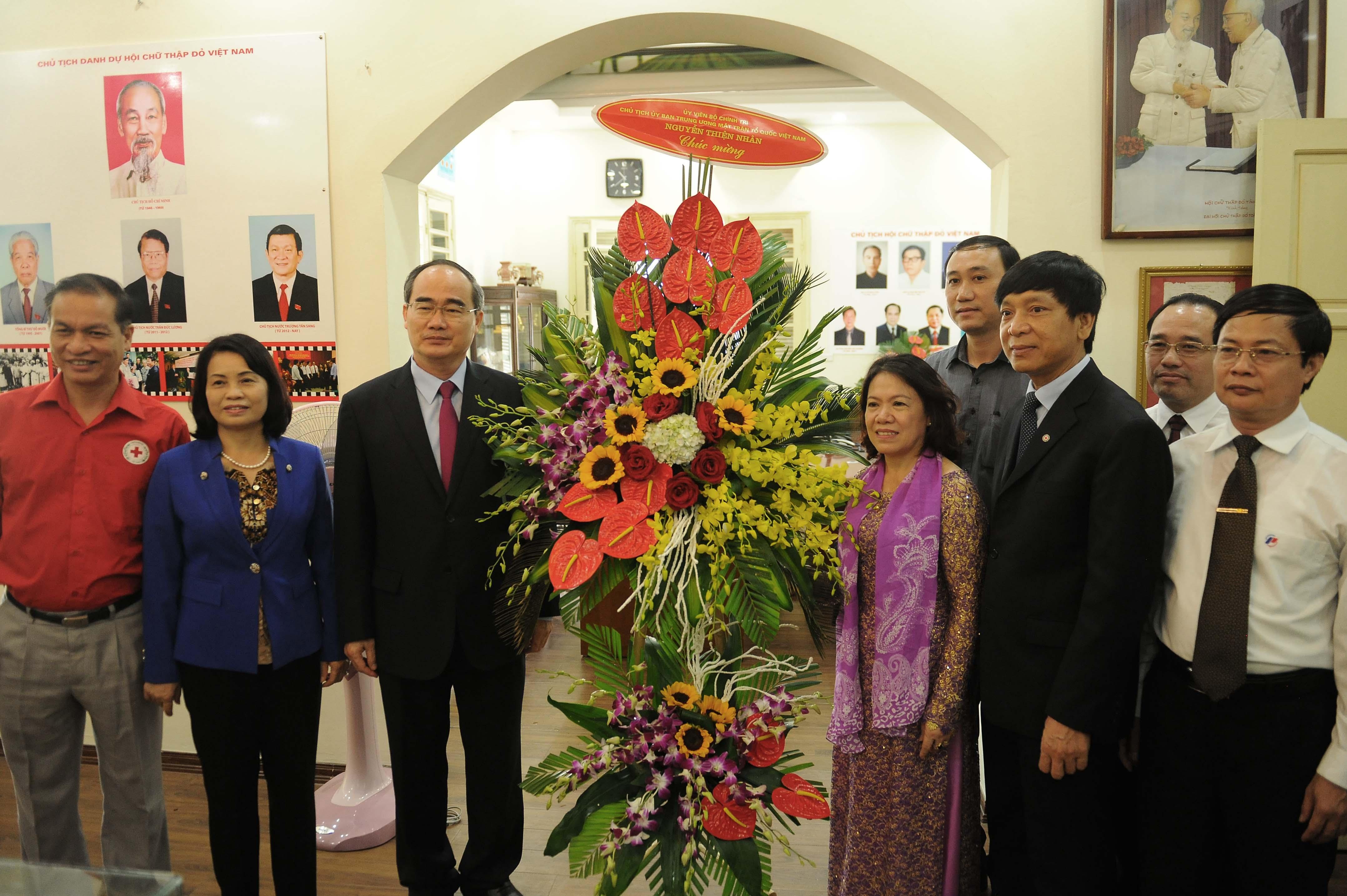 VFF President congratulates Vietnam Red Cross Society's 70th anniversary