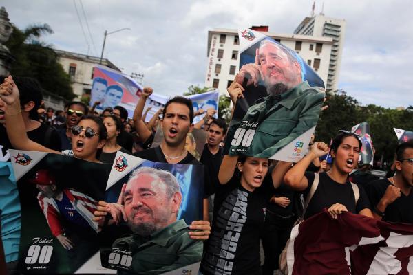 Cuban people mourn revolutionary leader Fidel Castro
