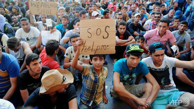 Migrant crisis: darkness in 2016