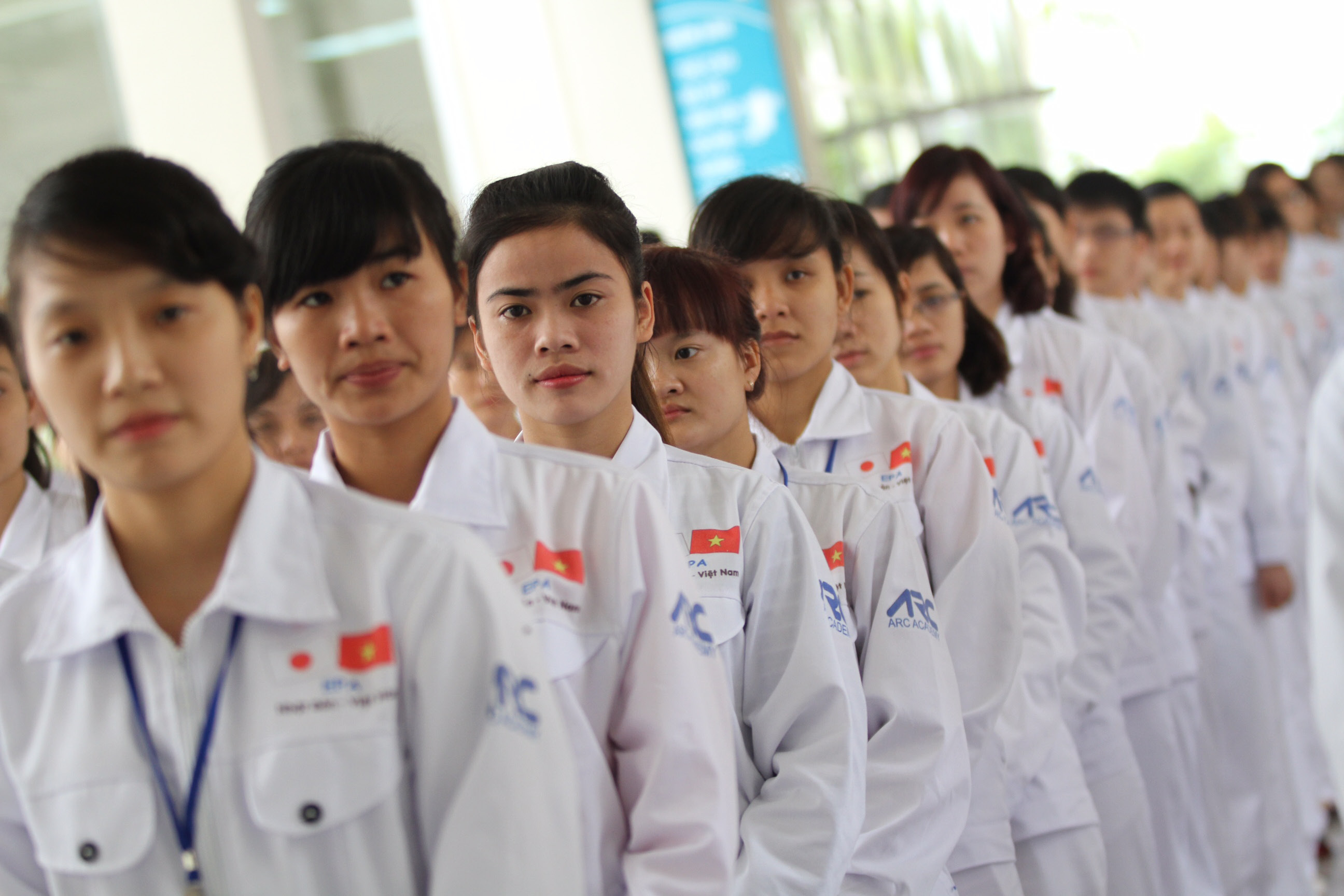 Training workers for labor export