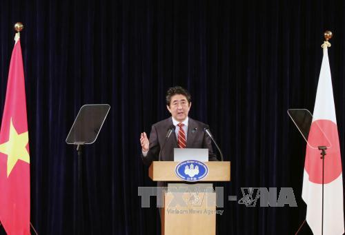 Japanese PM calls for respect for rule of law to safeguard freedom of navigation