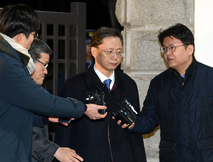 South Korean court rejects arrest warrant for former presidential aide