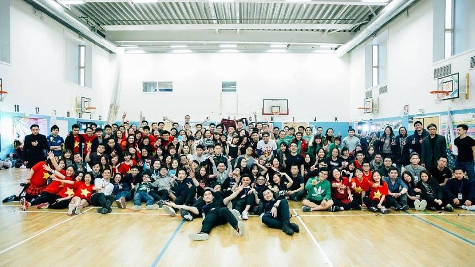 Sport Day London 2017 of Vietnamese students