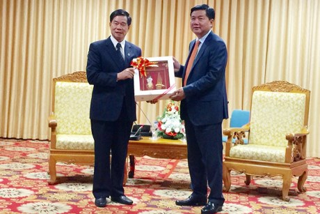 Ho Chi Minh City, Vientiane enhance relations