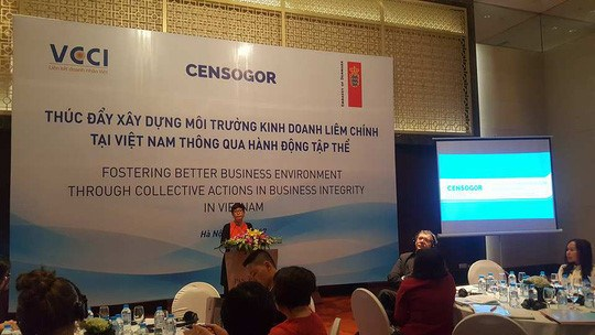 Vietnam promotes an incorruptible business environment