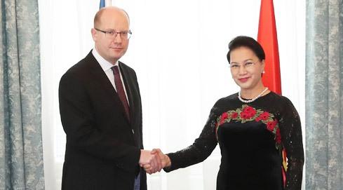 NA Chairwoman concludes Czech visit