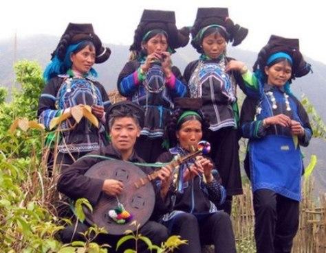 Musik, instrumen musik dan seni tari dari warga etnis minoritas Ha Nhi