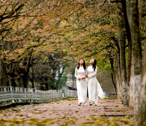 Visitors are charmed with Hanoi's beauty