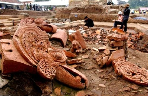 Individuals join hands to preserve historical artifacts