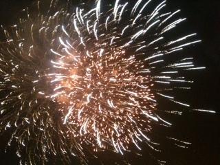 Fireworks in Hanoi