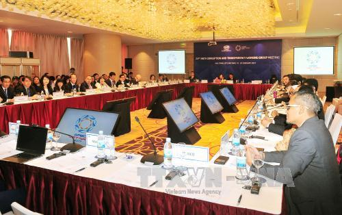 Working groups continue discussions at APEC SOM-1