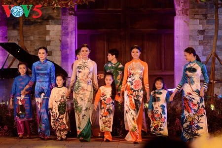 """Charming Ao Dai"" contest concludes in Ho Chi Minh City"