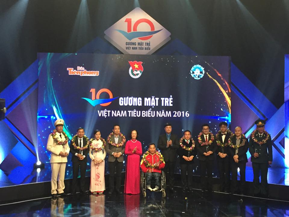Outstanding young Vietnamese honored