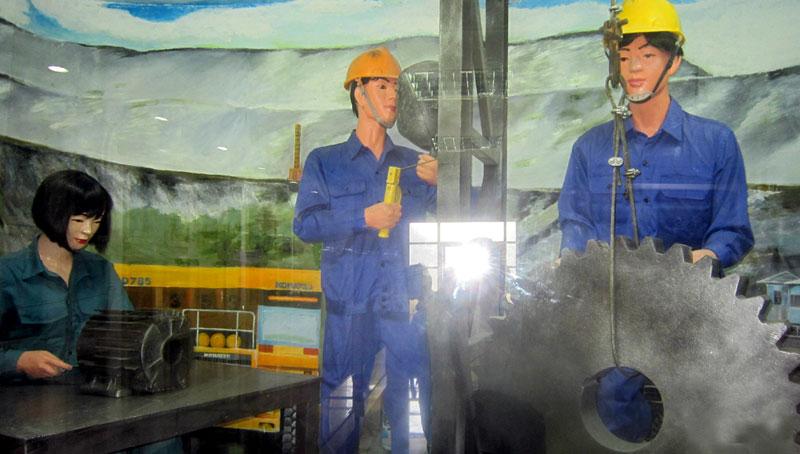 广宁省矿工体验旅游线