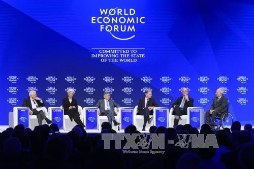 2017年达沃斯世界经济论坛年会闭幕
