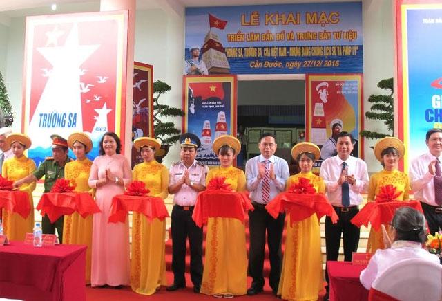 """Ausstellung """"Hoang Sa, Truong Sa von Vietnam – historische und gesetzliche Beweise"""