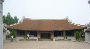 Die typische Struktur der klassischen Dörfer in Vietnam