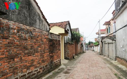Die Umgebung der klassischen Dörfer in Vietnam