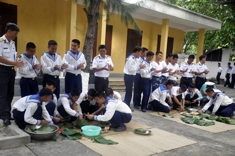 Inselkreis Truong Sa bereitet sich auf das Neujahrsfest Tet vor