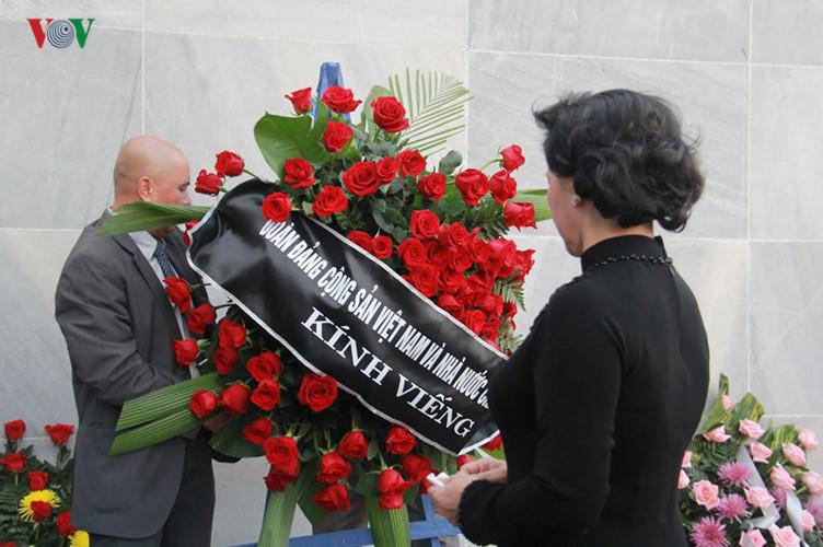 越南党政领导人和人民向菲德尔·卡斯特罗去世表示沉痛哀悼