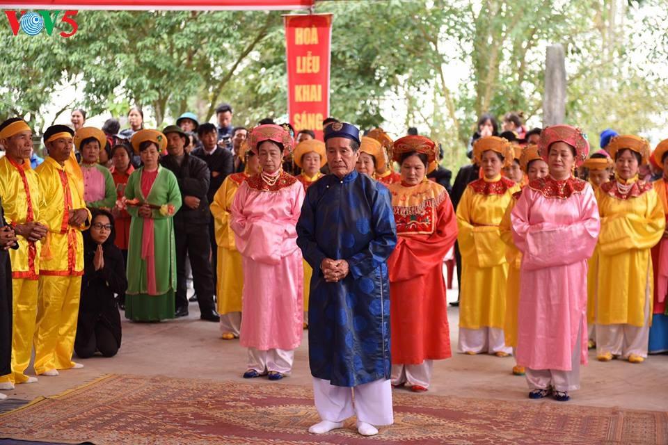Độc đáo lễ hội Minh Thề làng Hoà Liễu