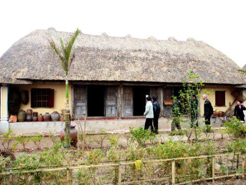 Museum in der friedlichen Landschaft von Giao Thuy